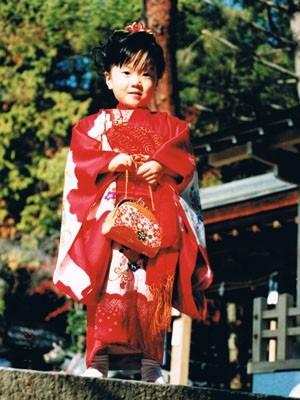 お宮参りの着物の店「京の初着屋」 / 女児お宮参り初着の身上げ加工 (4202)