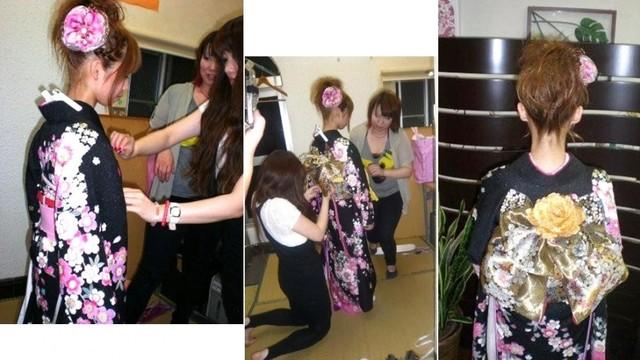 着付 ~成人式・卒業式・七五三~ | 加須の美容室 ビューティガロ (4690)