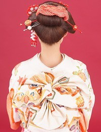 夢館ビューティ ースタッフブログ »振袖 帯スタイル (4737)