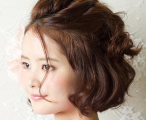 浴衣のヘアアレンジ ボブ 編 | 京都着物レンタルwargo (4890)