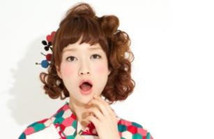 袴のヘアアレンジ ボブ編 | 京都着物レンタルwargo (4893)