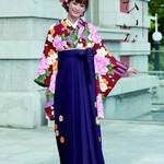 大人カワイイ♪♪卒業式の袴に古典柄はいかがでしょう?