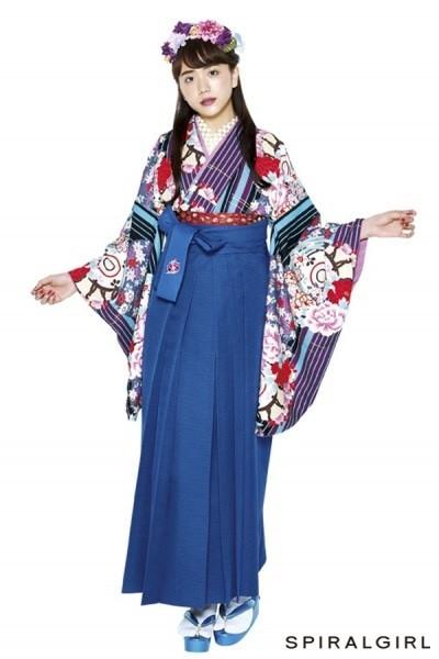 レトロ袴(No: 2569) / TAKAZEN 梅田店 - 卒業式と成人式の袴レンタル日本最大級の情報サイト (7858)