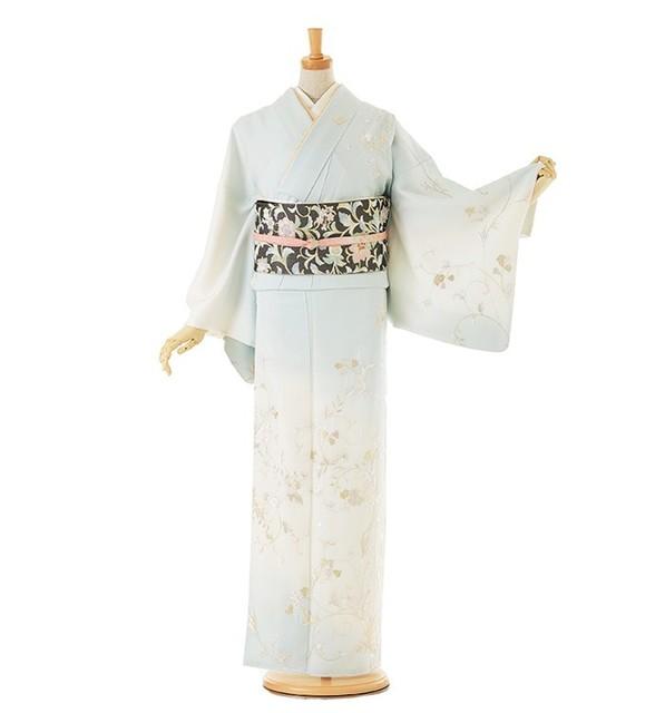 総刺繍 訪問着 No.011-0133-L|着物のレンタルは【着物レンタル365】 (8899)