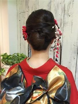 【2017年冬】和装へア/afeel ADVANCED HAIR QUALITY 【エフィール 】のヘアスタイル BIGLOBEヘアカタログ (9854)