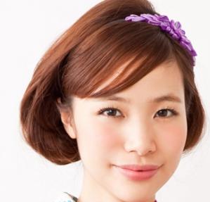 浴衣のヘアアレンジ ボブ 編   京都着物レンタルwargo (9943)