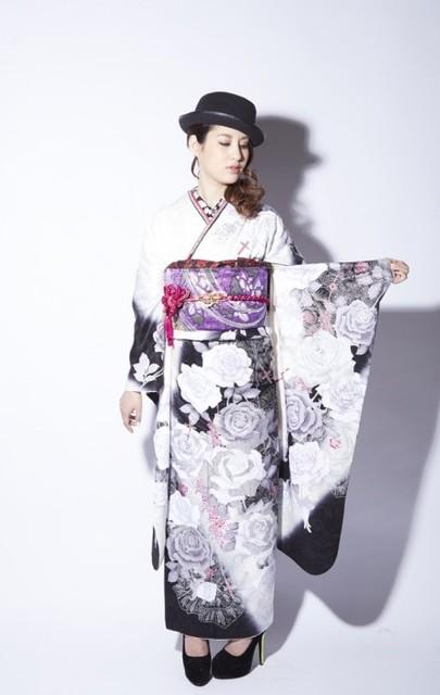 エッジィにキメる、オトナSTYLE⑤(No: 27145) / ロイヤルスタジオ 浜線店   My振袖 (10011)