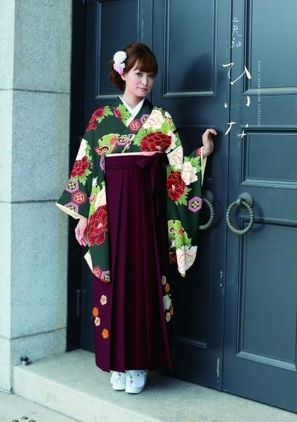 古典袴(No: 2545) / TAKAZEN 梅田店 - 卒業式と成人式の袴レンタル日本最大級の情報サイト (10050)