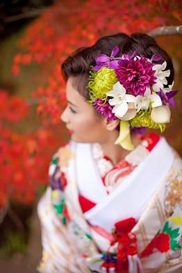 和装の結婚式!着物の種類と花嫁の髪型・ヘアスタイルをご紹介♪ | 結婚式準備ブログ | オリジナルウェディングをプロデュース Brideal ブライディール (10556)