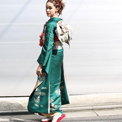 結婚式に参列する際の振袖について     着物レンタルモールhataori(ハタオリ) (10913)