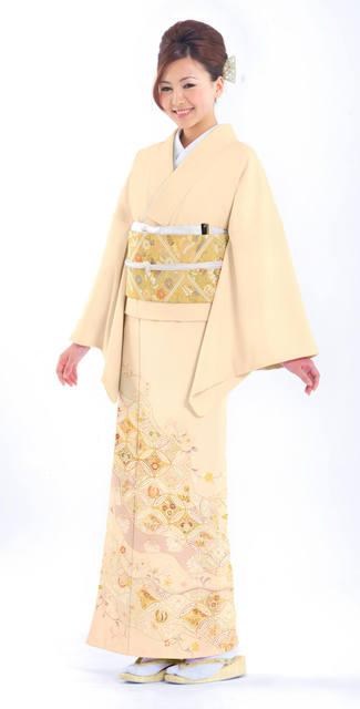 留袖レンタル(色留袖)は,晴れ着の丸昌 (11136)