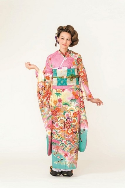 2017-2018 Furisode collection A-13(No: 18068) / 四季のきもの 丸見屋 | My振袖 (11328)