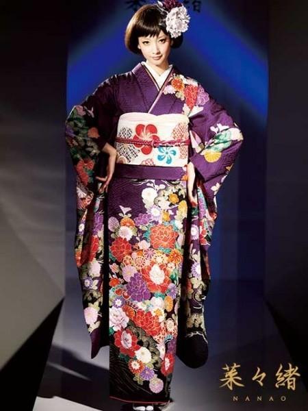 【新作】菜々緒着用 古典 紫(No: 4345) / PA-ru-LE(パルレ) | My振袖 (13705)
