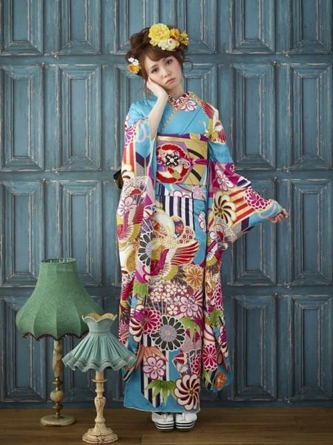 FS-1208(No: 30370) / FURISODEキラキラ(呉服の京趣苑) | My振袖 (14656)