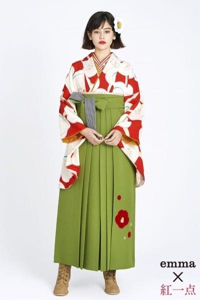 レトロ袴(No: 2561) / TAKAZEN 梅田店 - 卒業式と成人式の袴レンタル日本最大級の情報サイト (15070)