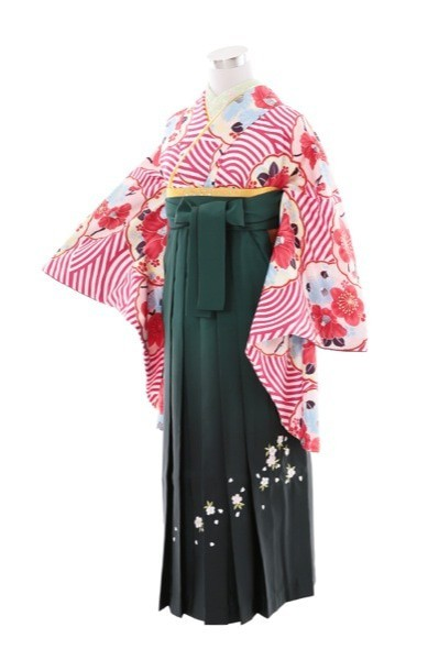 hakama12(No: 2407) / きものKIKYO 記憶に華 - 卒業式と成人式の袴レンタル日本最大級の情報サイト (15075)