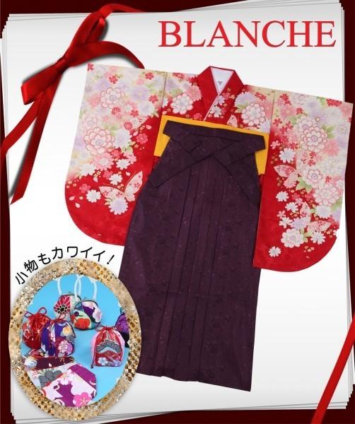 □■ラメRED■□(No: 1696) / BLANCHE 青森ドリームタウンALi店 - 卒業式と成人式の袴レンタル日本最大級の情報サイト (15111)