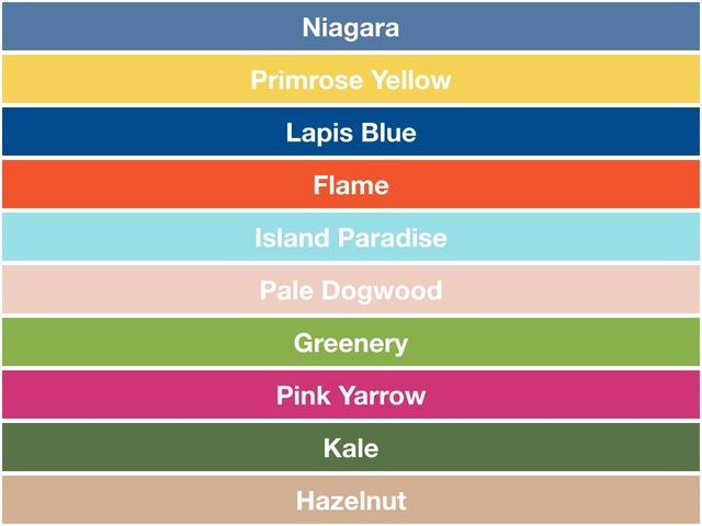 2017年春夏トレンドカラー、あなたが好きな色は?  |  COLOR PROJECT (15877)