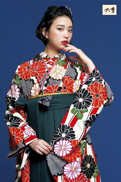 kn5(No: 2471) / 京都五条きものKIKYO - 卒業式と成人式の袴レンタル日本最大級の情報サイト (15987)