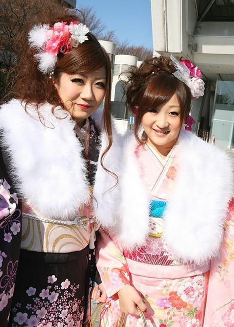 No.203 かおりん&ミサミサ   ふりそで美女スタイル〜振袖BeautyStyle〜 (16014)