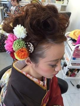【2017年冬】成人式セット/Hair Room Coup (クー)のヘアスタイル|BIGLOBEヘアスタイル (16359)