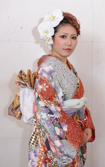 髪型 成人式髪型ロング編み込み : kimonosekai.com