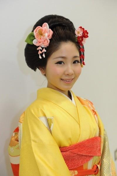 清楚な日本髪♪