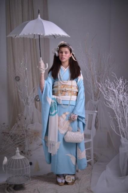 No.777 平和の鳩 ~霧のプリンセス~(No: 18104) / ブライダルコア伊谷 | My振袖 (16635)