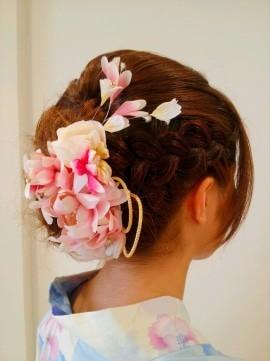 【2017年冬】編み込み☆サイドアップ/Hair Frais Make 【フレイス】のヘアスタイル|BIGLOBEヘアスタイル (16656)