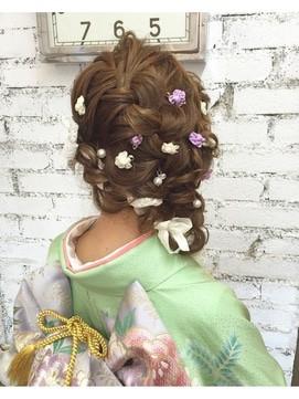 【2017年冬】成人式ヘア/Hair studio CLAMP≪クランプ≫のヘアスタイル|BIGLOBEヘアスタイル (16659)