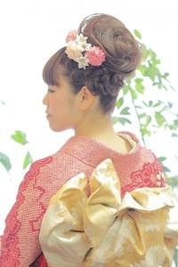 成人式 振袖着付+ヘアセット¥19800★ | 元町・石川町の美容室 hair coucouのヘアスタイル | Rasysa(らしさ) (16675)