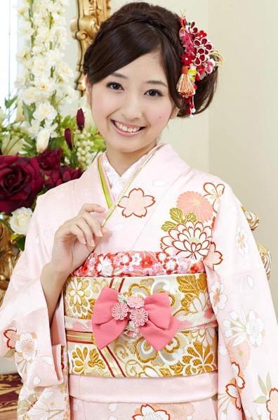 ピンク地がふんわり可憐な桜の花柄振袖 【MKK,28007】(