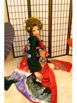 【2017年冬】日本髪 成人式 千葉 道化師Arp  花魁/Hair and Nails Doukeshi Arpのヘアスタイル|BIGLOBEヘアスタイル (17255)