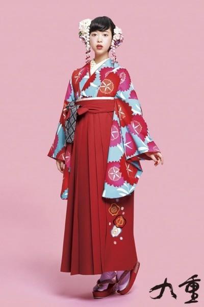 レトロ袴(No: 2576) / TAKAZEN 梅田店 - 卒業式と成人式の袴レンタル日本最大級の情報サイト (19111)