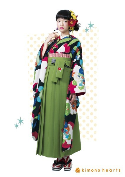 fl-4112_kh-3(No: 2501) / キモノハーツ京都別蔵 kimono hearts kyoto betsukura - 卒業式と成人式の袴レンタル日本最大級の情報サイト (19145)