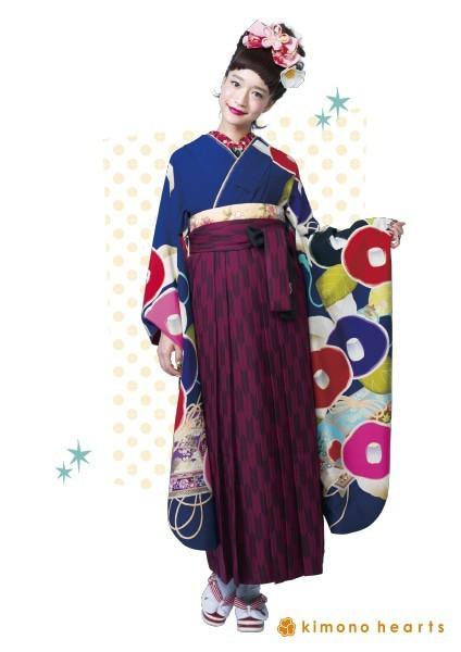 kh-184_eh-2(No: 2498) / キモノハーツ京都別蔵 kimono hearts kyoto betsukura - 卒業式と成人式の袴レンタル日本最大級の情報サイト (19147)