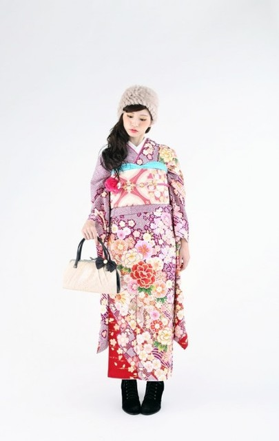 ふんわり可愛い♥Fluffily Style④(No: 27138) / ロイヤルスタジオ 浜線店 | My振袖 (19342)