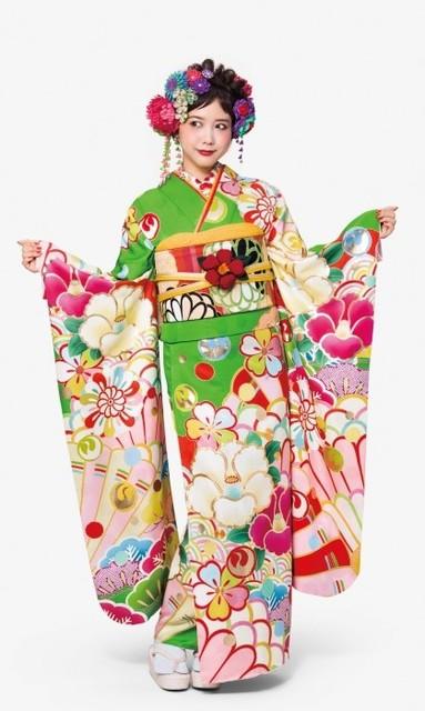kamisibai(No: 28333) / ふかの衣装 前橋店 自由の森   My振袖 (19446)