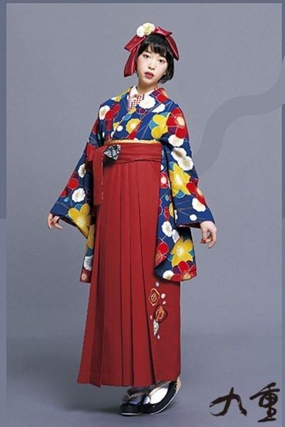 レトロ袴(No: 2577) / TAKAZEN 梅田店 - 卒業式と成人式の袴レンタル日本最大級の情報サイト (19740)