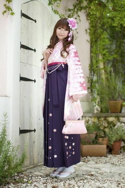 優しい桜色(No: 1850) / Studio Kirala柏店 - 卒業式と成人式の袴レンタル日本最大級の情報サイト (20214)