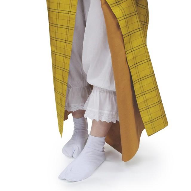 【楽天市場】《レースステテコ:6》女性用 レース付き着物用ステテコ M/L 綿 楊柳 綿クレープ 和装 下着 着物 浴衣 和装下着 レディース 裾よけ 裾除け すそよけ【メール便送料無料】:京越卸屋 (20346)