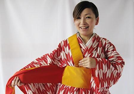 卒業袴の着方 着付け 卒業袴の帯結び FashionStylist Dolceドルチェ (20520)