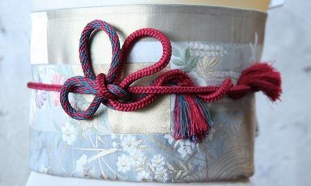 帯紐を使って 素敵な帯紐結び その3 ■桜結び (20569)