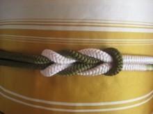 帯締め(藤結び)の結び方|着物練習帖 (20573)