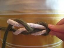 帯締め(藤結び)の結び方|着物練習帖 (20582)