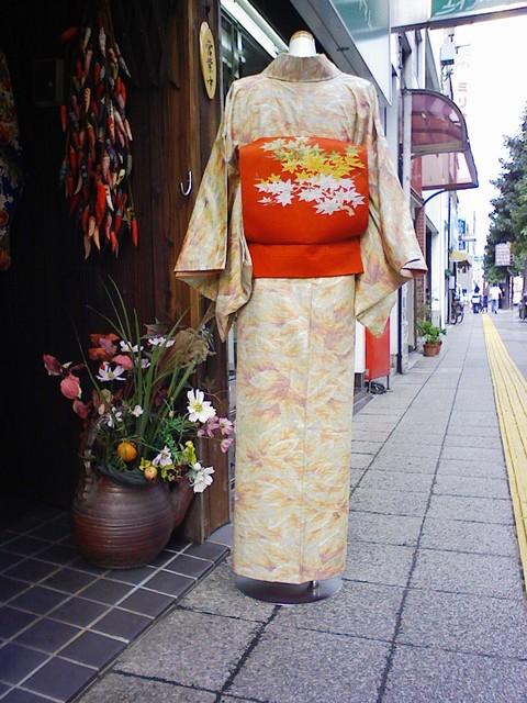 季節を着る : 和のギャラリー赤松、古布、時代着物 (20693)