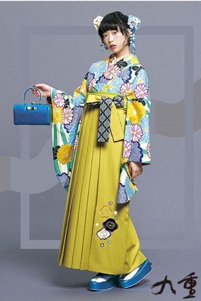 レトロ袴(No: 2573) / TAKAZEN 梅田店 - 卒業式と成人式の袴レンタル日本最大級の情報サイト (20872)