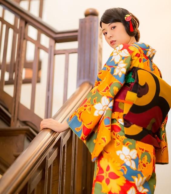 「はじめてのきもの」応援します【京都きもの町-初めての着物-】 (20906)