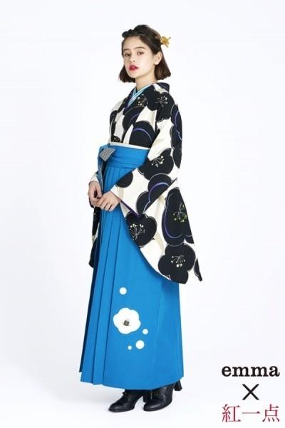 レトロ袴(No: 2560) / TAKAZEN 梅田店 - 卒業式と成人式の袴レンタル日本最大級の情報サイト (21078)