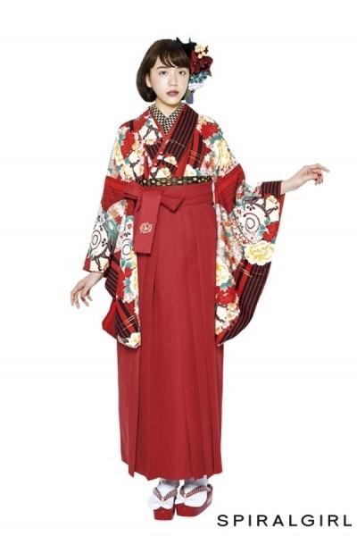 レトロ袴(No: 2566) / TAKAZEN 梅田店 - 卒業式と成人式の袴レンタル日本最大級の情報サイト (21371)